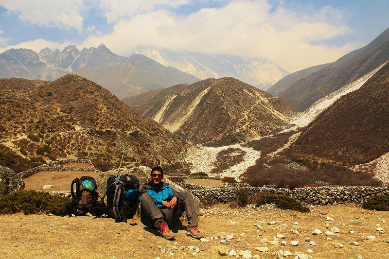 tired Everest Base Camp trek