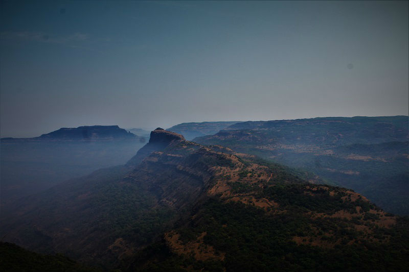 view from Rajmachi Fort