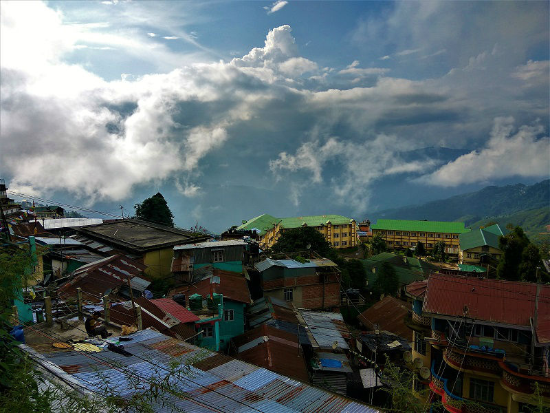 Darjeeling city view