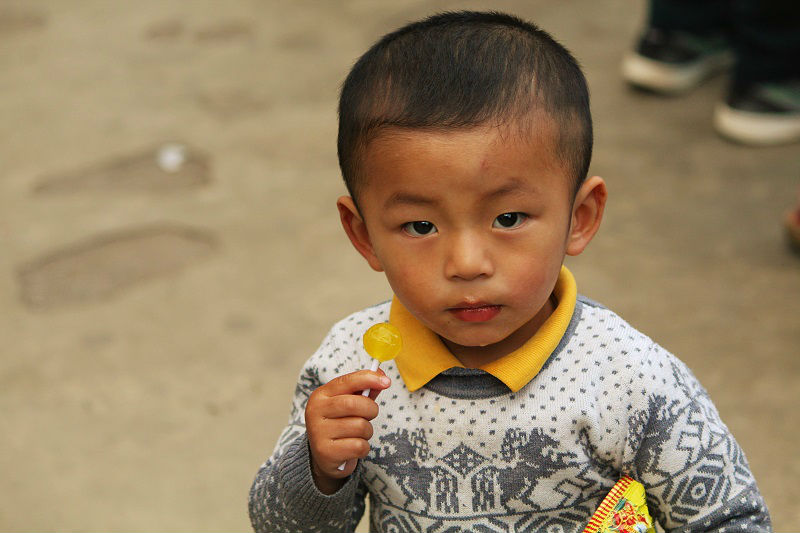 cute kid Bhutan