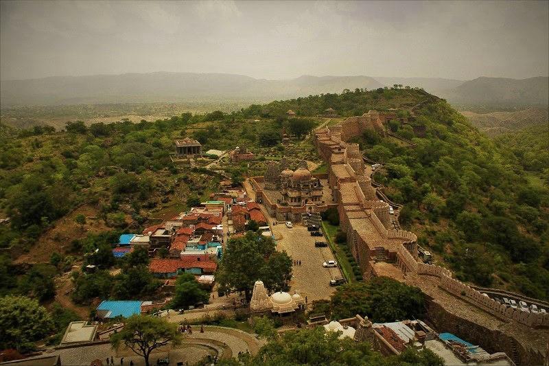 36 km wall Kumbhalgarh Fort