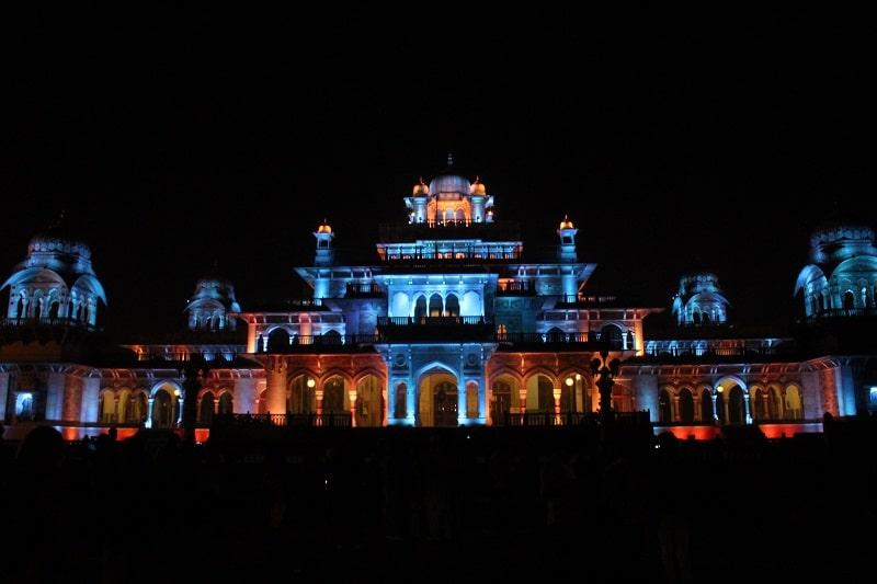 Albert HallMuseum Night View Jaipur