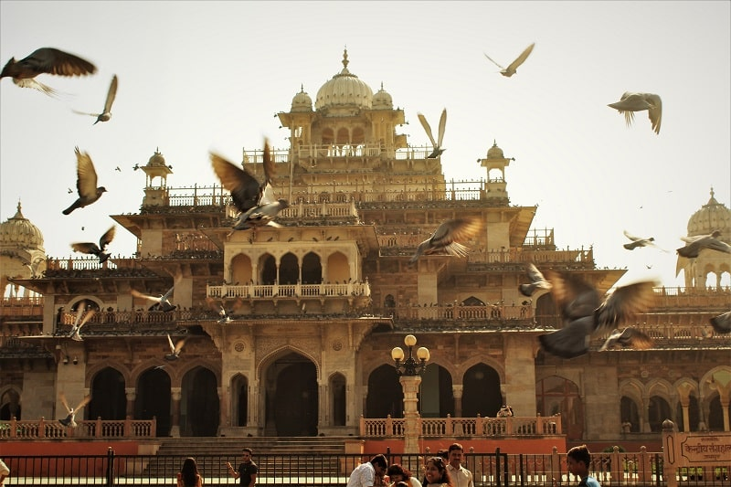 Albert hall Museum must see places in Jaipur