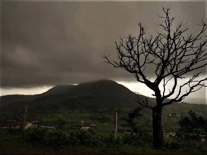 Amazing landcape at Purandar Fort