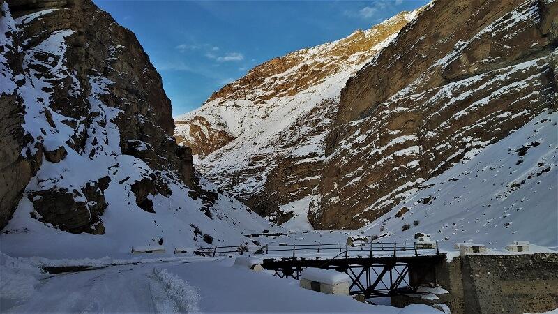 Amazing landscape at Spiti Valley