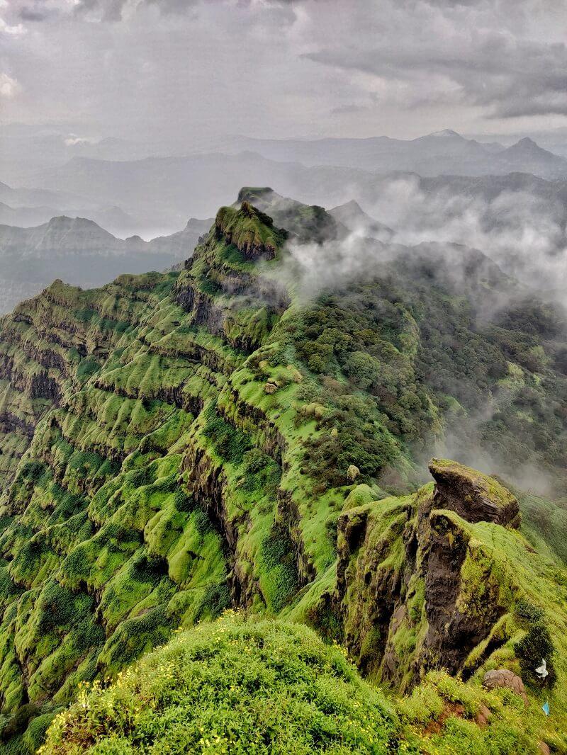 Amazing view from Arthur Seat Mahabaleshwar