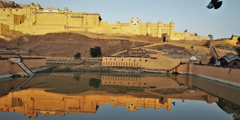 Amer fort lake view