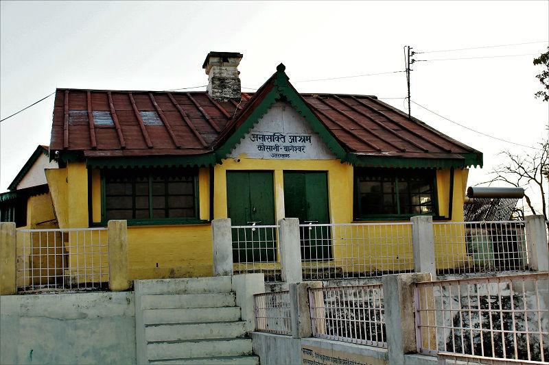 Anashakti Ashram Kausani Uttarakhand