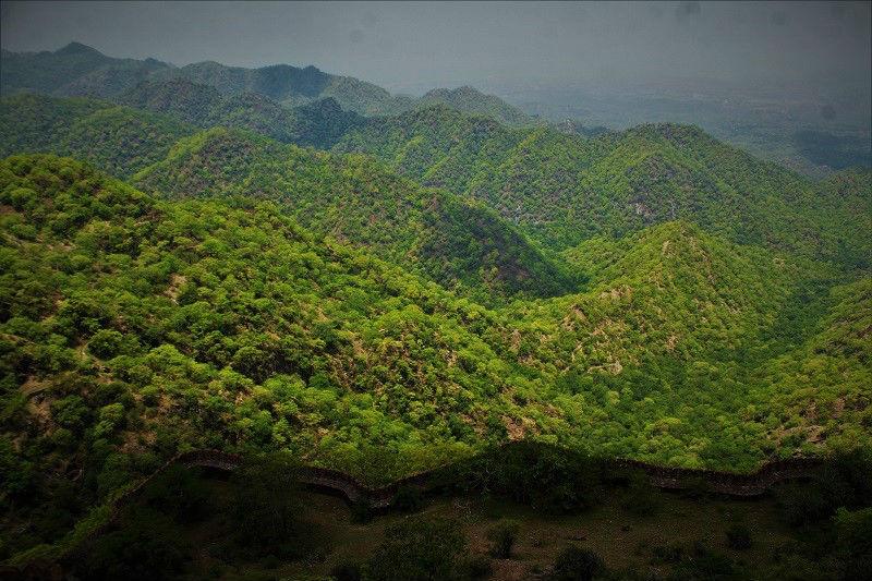 Aravalli range Kumbhalgarh Fort
