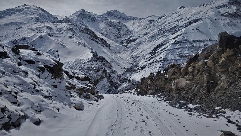Astonishing scenes at Spiti valley in winters