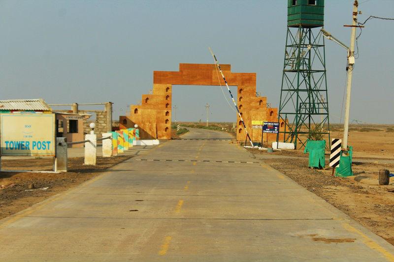 BSF Check post rann of kutch gujarat