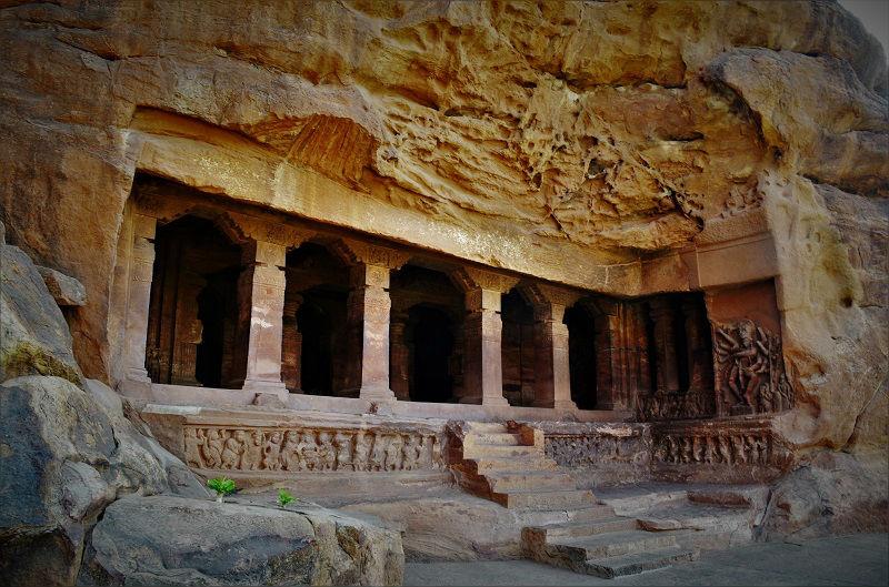 Badami Caves temple 2 Karnataka