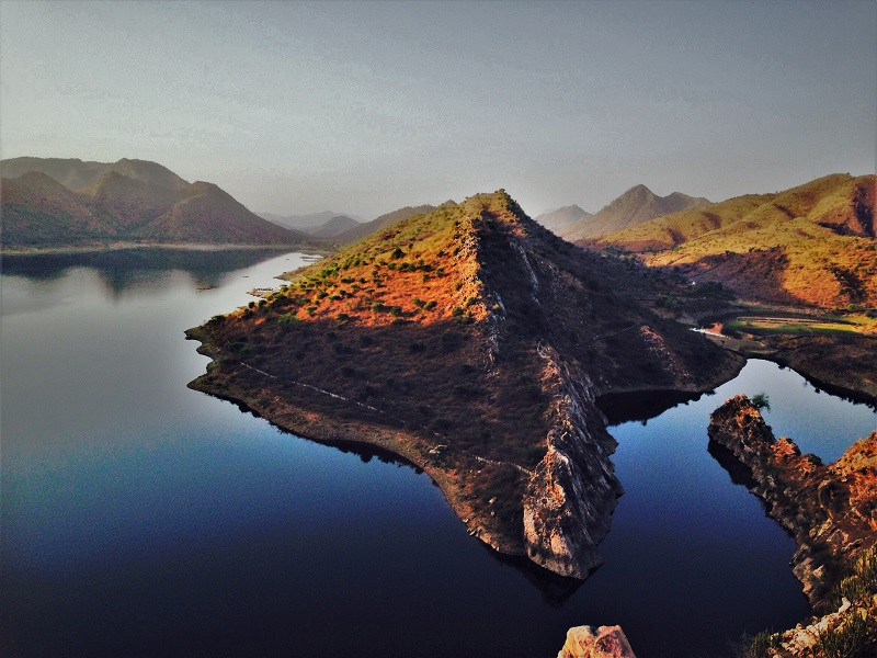 Bahuballi peak near Badi Lake Udaipur city