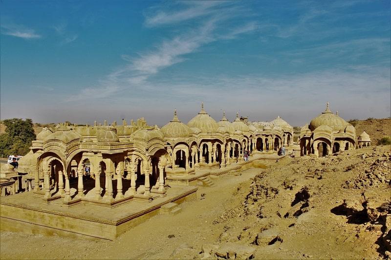 Bara bagh cenotaph Jaisalmer