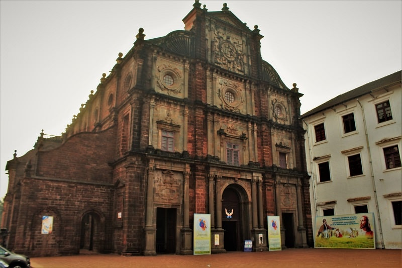 Basilica of Bom Jesus North Goa