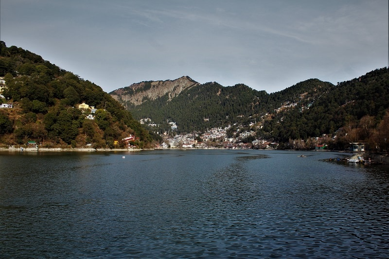 Beautiful Naini Lake Nainital Uttarakhand