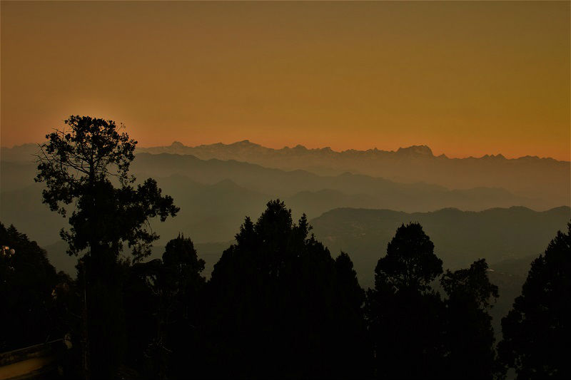 Beautiful scenes at Pauri Uttrakhand