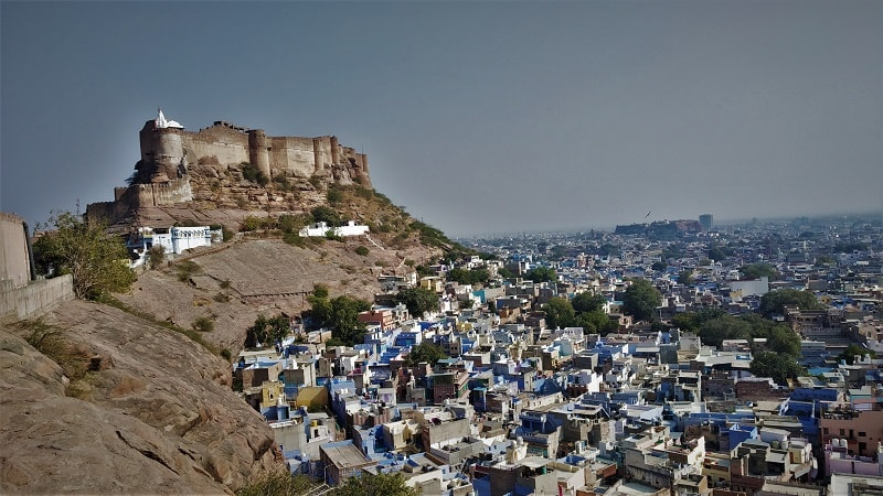 Blue Jodhpur city