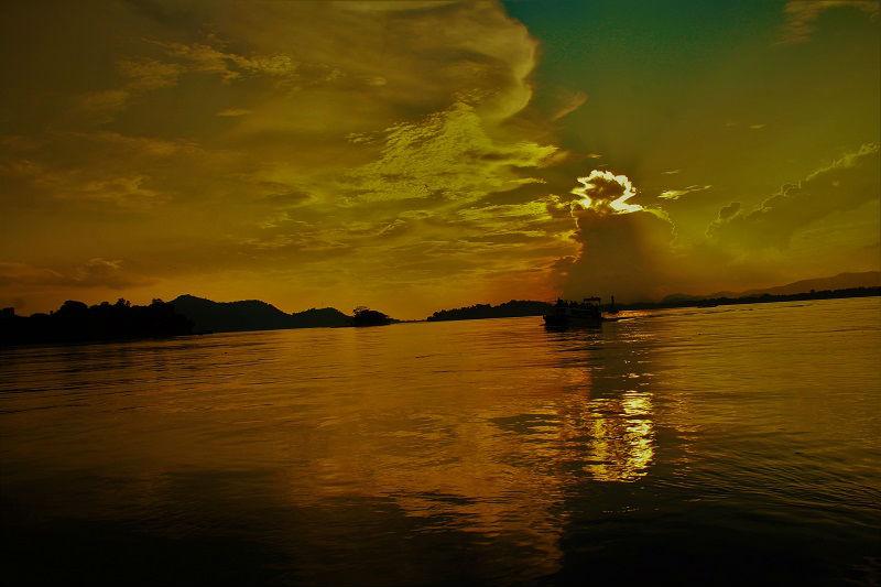 Brahmaputra River Guwahati Assam