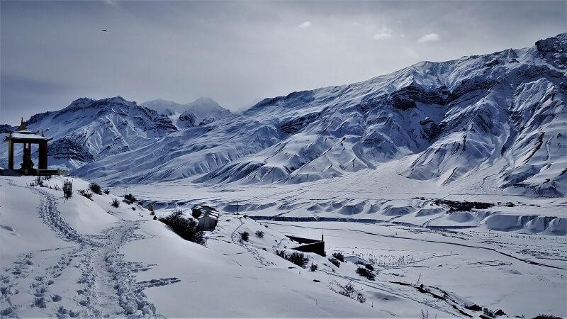 Breathtaking views at Spiti Valley