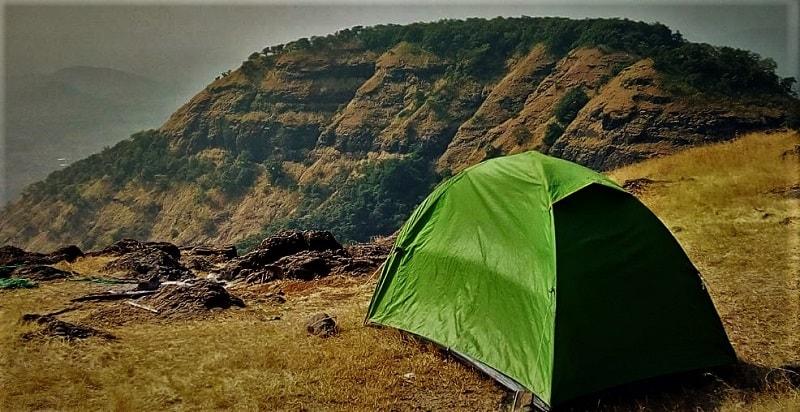 Camping at Prabalmachi on Kalavantin Durg Trek