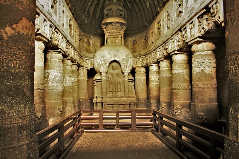 Cave 19 Ajanta Caves Aurangabad