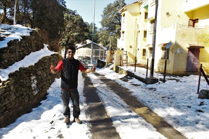 Chail in winters by onacheaptrip