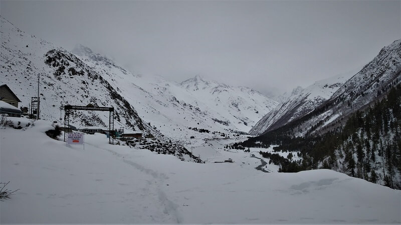 Chitkul town start point