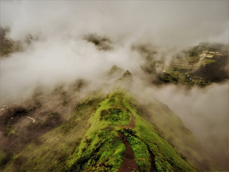 Tung Fort - Places to visit near Mumbai Pune in monsoon