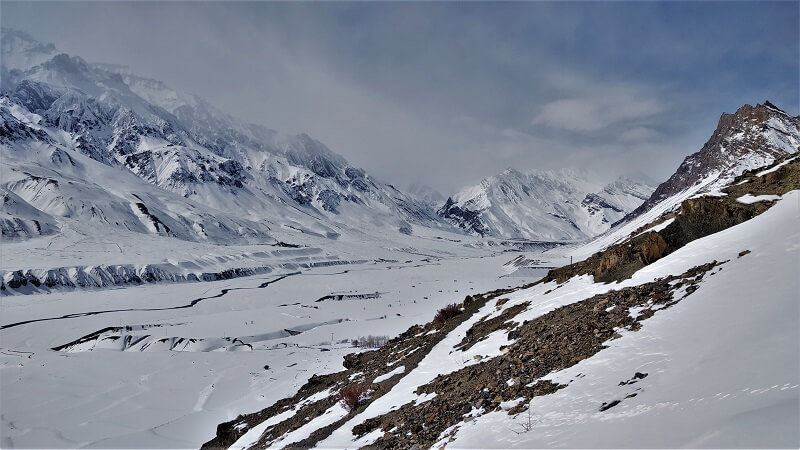 Cloudy at Spiti Valley Himachal
