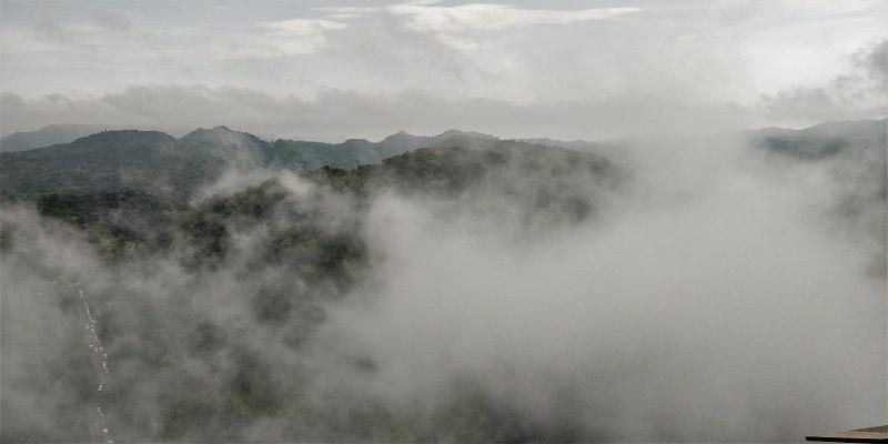 Cloudy scenes from Kumbhalgarh Fort