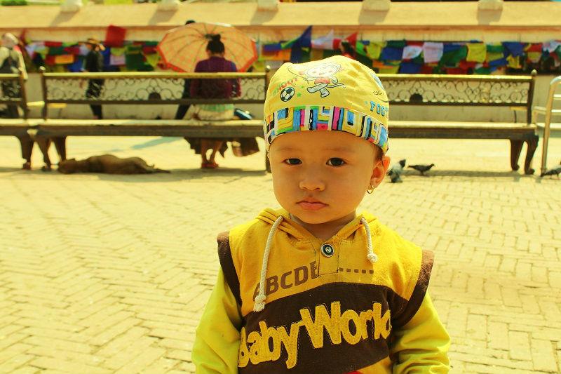 Cute Kid nepal