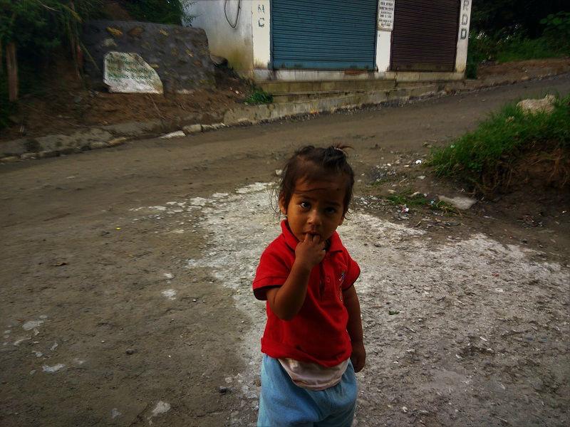 Cute kid at Pelling Sikkim