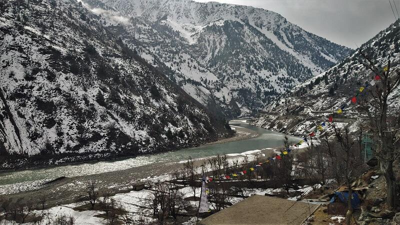 En route Spiti valley