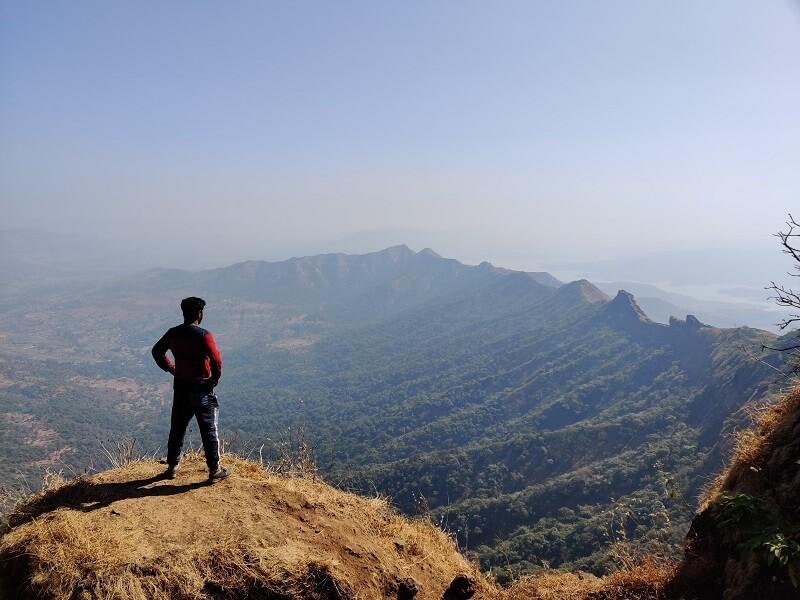 Enjoying views of Suvela Machi from Balekila