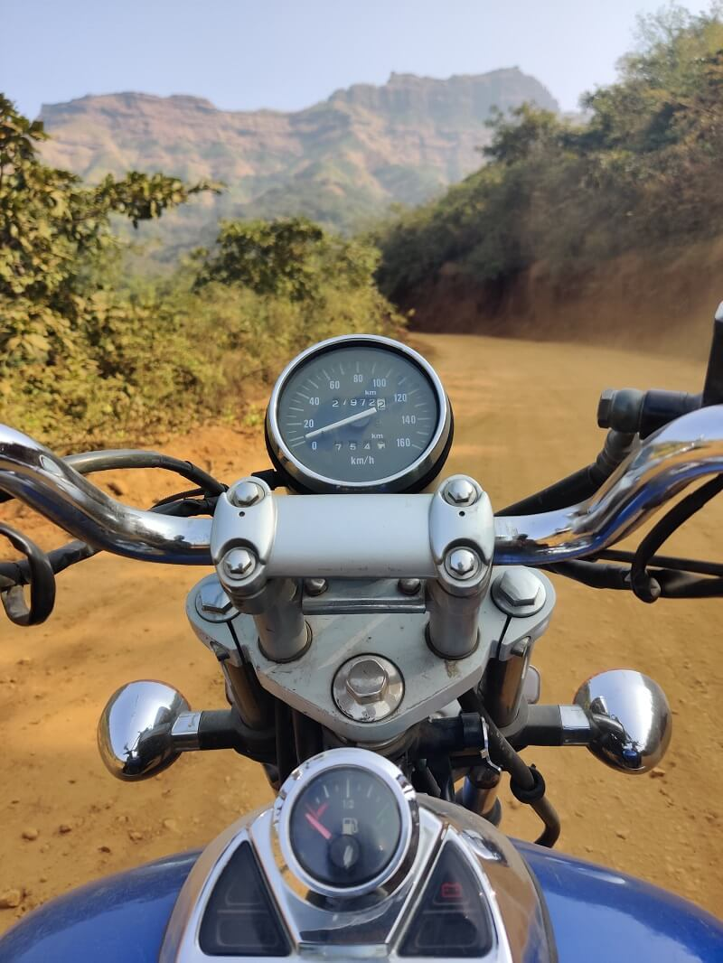 Enroute to Pali Village base village of Rajgad Fort