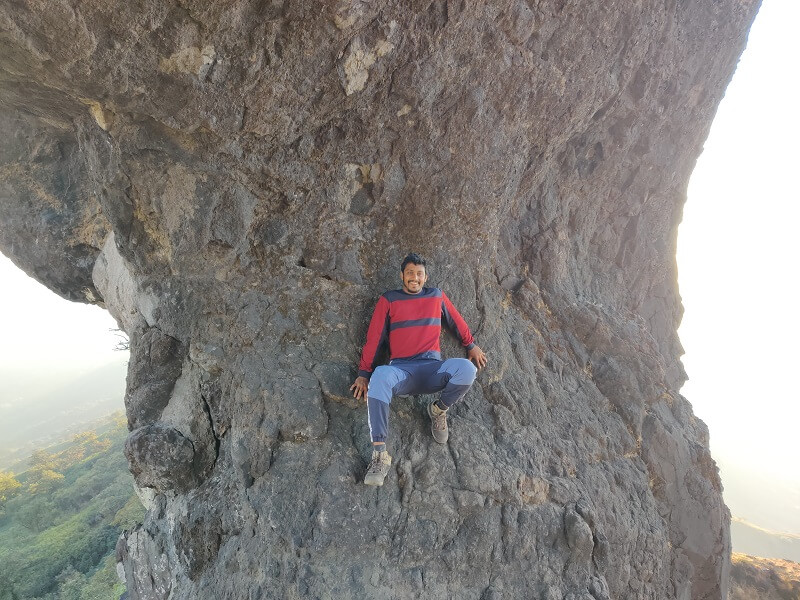 Enroute to Suvela Machi Rajgad Fort