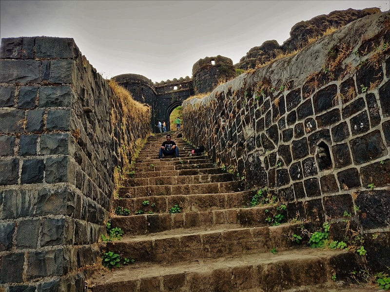 Great architecture as seen on Rajgad Fort Trek