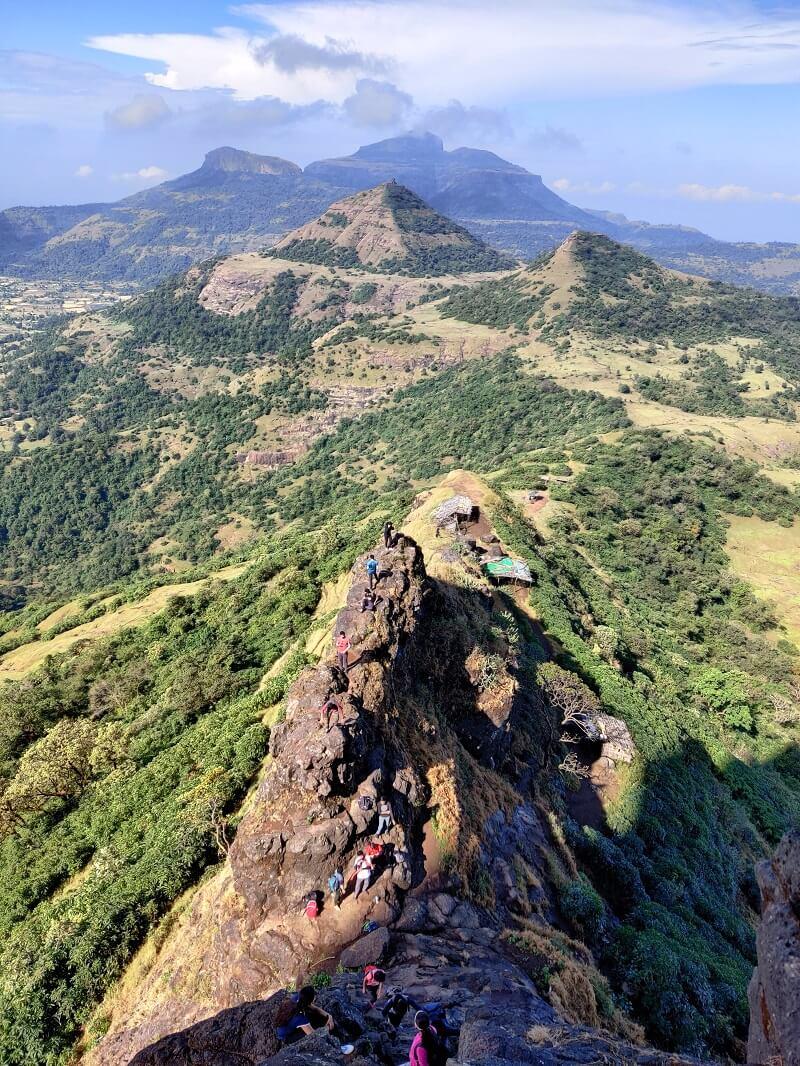 Harihar fort trek near Nashik