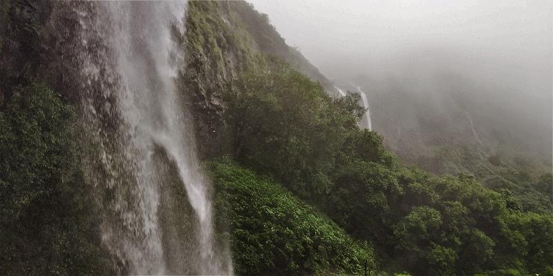 Heavenly feelings at Tamhini waterfall