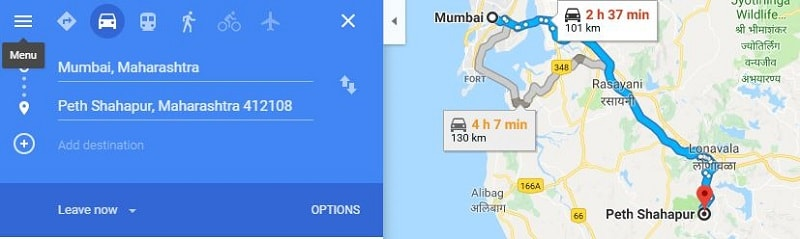 How to reach Korigad Fort Trek from Mumbai-min