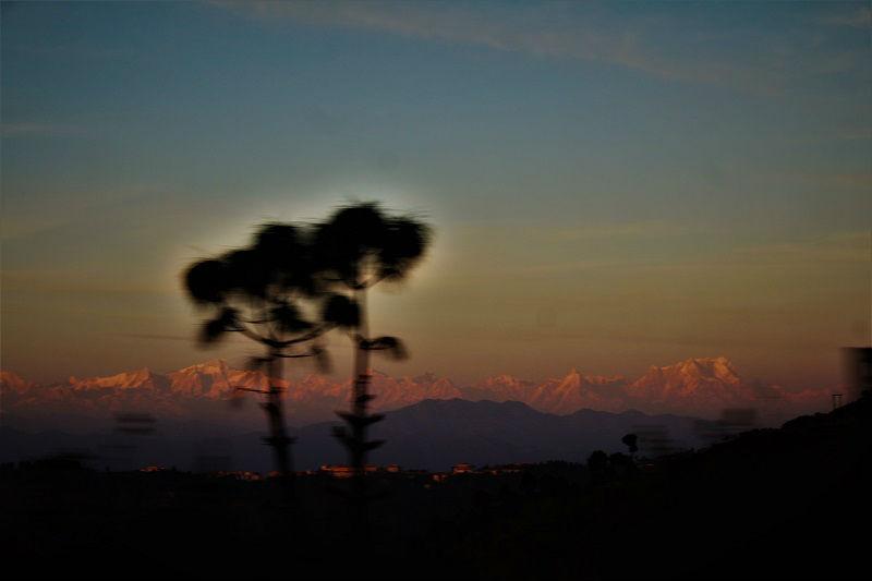 In route to Pauri Uttarakhand