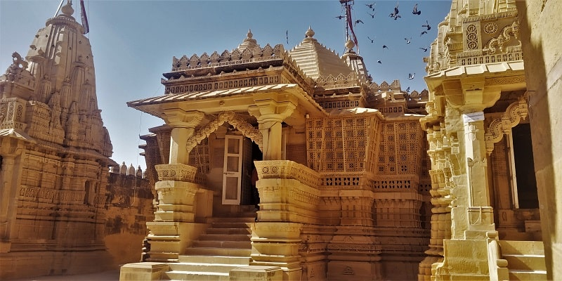 Jain temple Lodurva