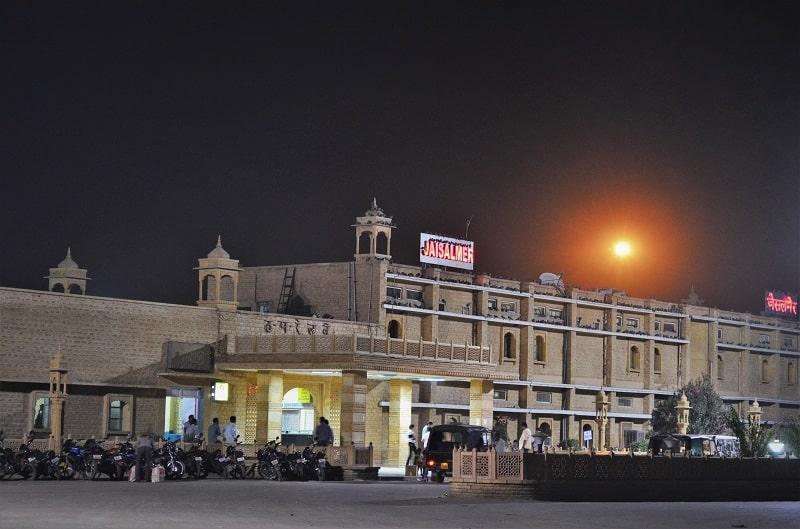 Jaisalmer railway station Jaisalmer