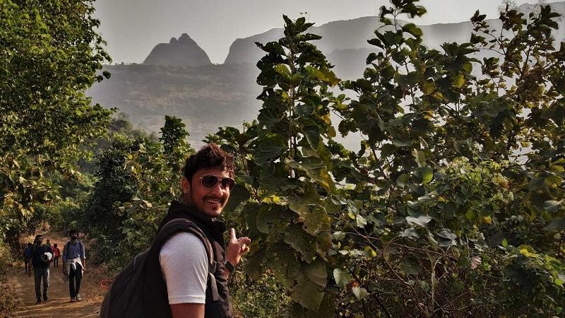 Kalavantin Durg in background