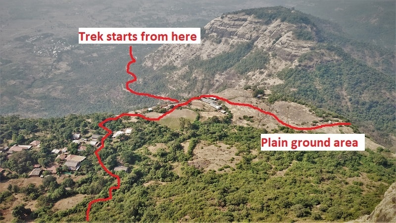 Kalavatin Durg Trek route till Prabalmachi