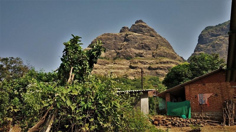 Kalvantin Durg as seen from Prabalmachi