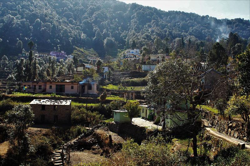 Khirsu Village Uttrakhand