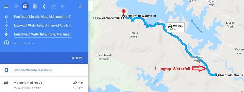 Laalwadi Bendewadi Jagtap Waterfall