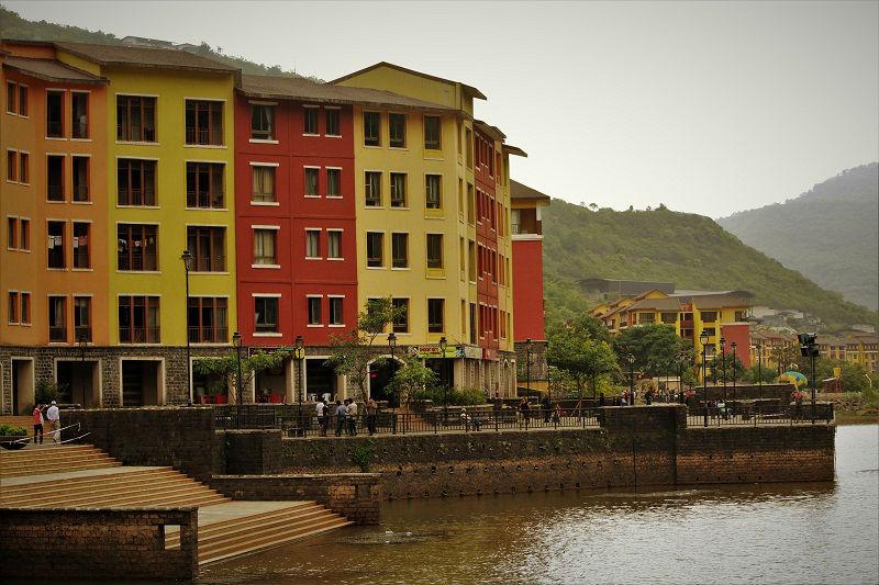 Lavasa city near Pune